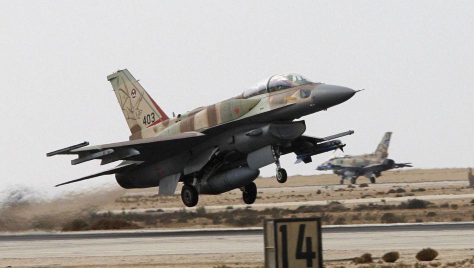 """Israelische F-16: """"Die Analysen deuten auf einen Krieg hin"""""""