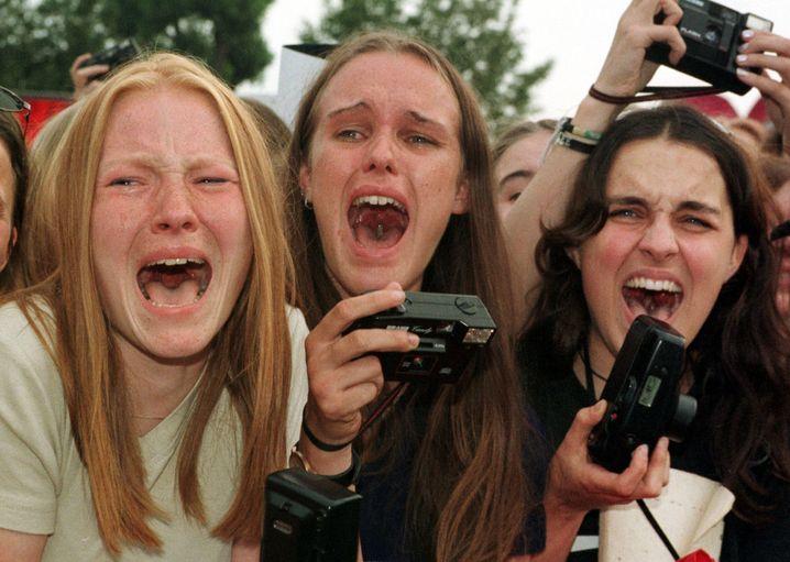 Ritual Frauensuche: Diese Fans schreien, vielleicht sogar nach Helga