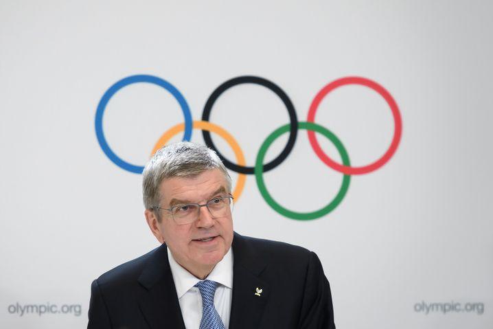 IOC-Boss Thomas Bach: Dankeschön nach Down Under