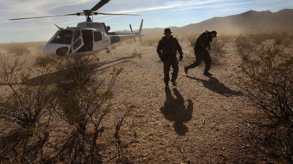US-Einsatzkräfte in der Nähe der mexikanischen Grenze: Waffenschmuggel und Drogenhandel