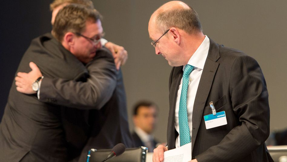 Vonovia-Chef Buch, Vorstandskollegen: Freude über den Abstimmungserfolg