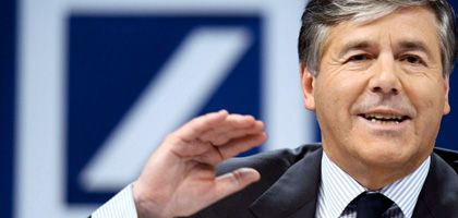 """Bankchef Ackermann: Keine Gemächlichkeit """"nur damit alle mitkommen"""""""