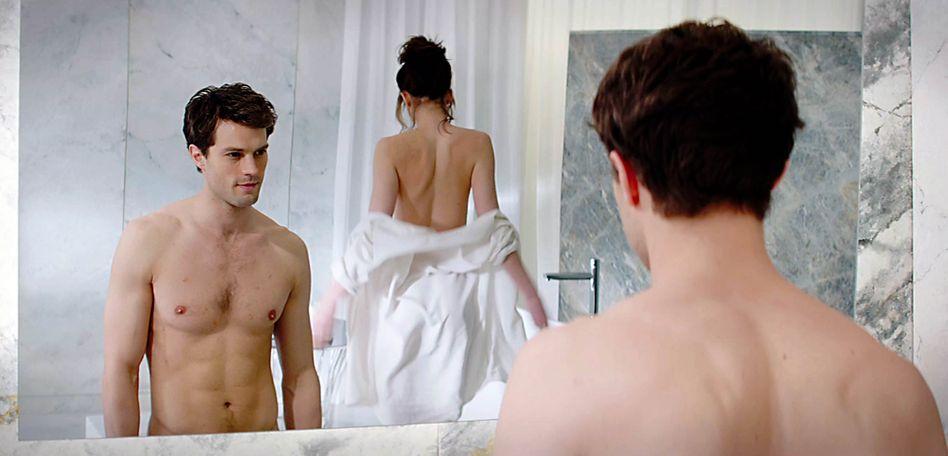 """""""Fifty Shades of Grey"""" im Kino: Der kleine Eros möchtein der Bettenabteilung abgeholt werden"""