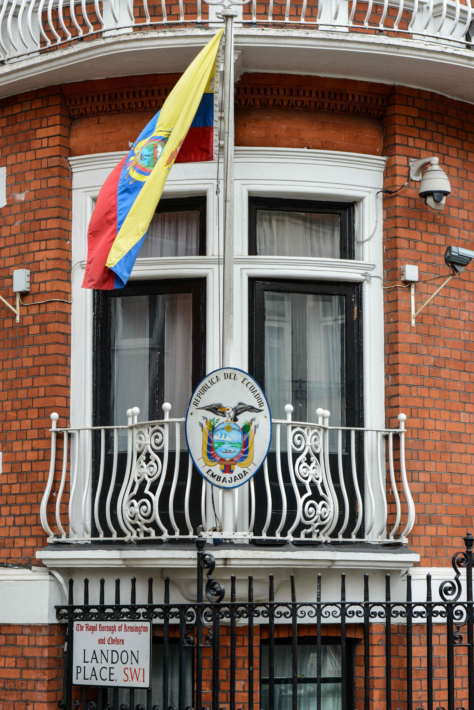 Botschaft Ecuador London Assange