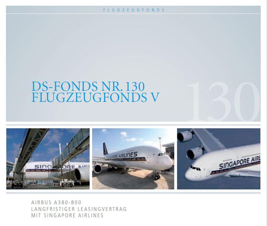 EINMALIGE VERWENDUNG A380 Flugzeugfonds und Fondsprospekt
