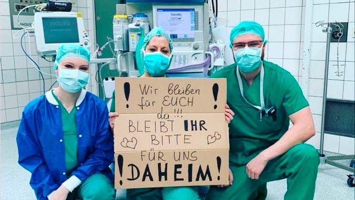 """Bleibt bitte für uns daheim!"": Appell an die Vernunft"