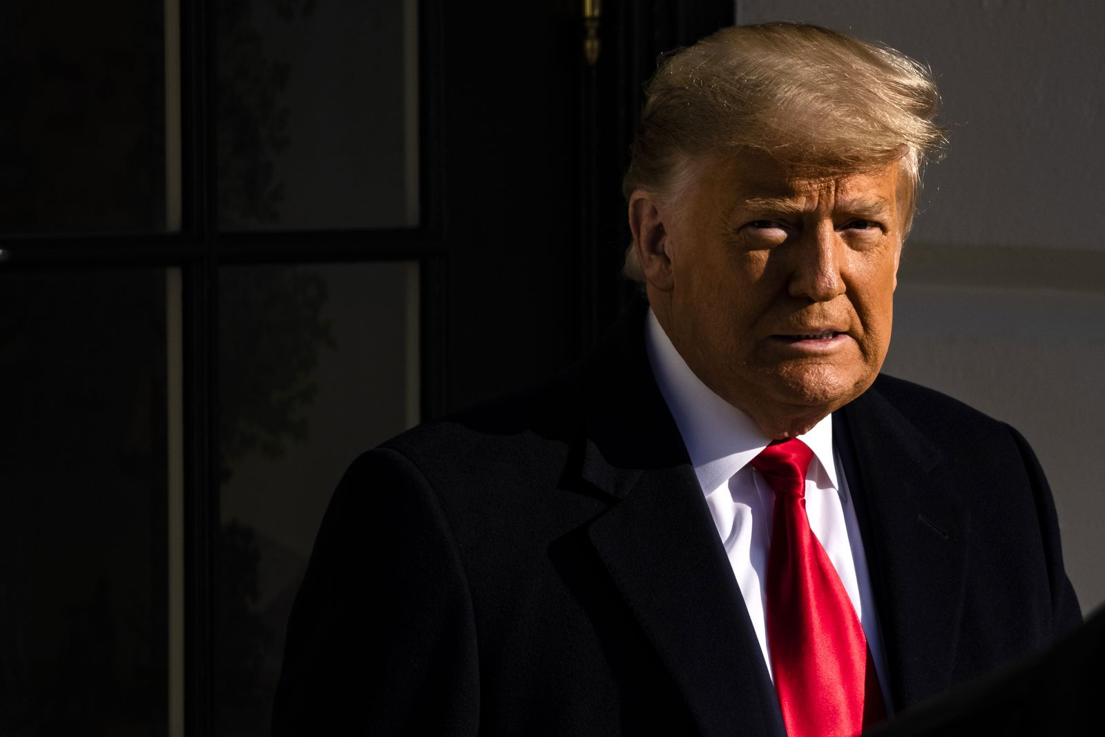 US President Trump departs for Texas, Washington, USA - 12 Jan 2021