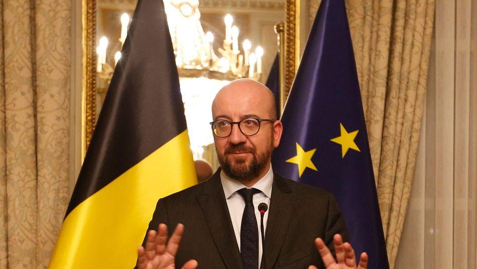 Belgiens Premierminister Charles Michel