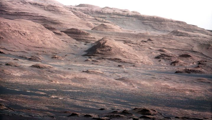 Fotos vom Mars: Scharfer Planet
