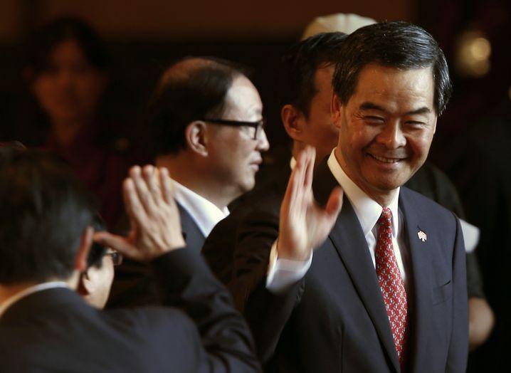 Hongkongs Regierungschef Leung: Den Aufstand souverän ignorieren