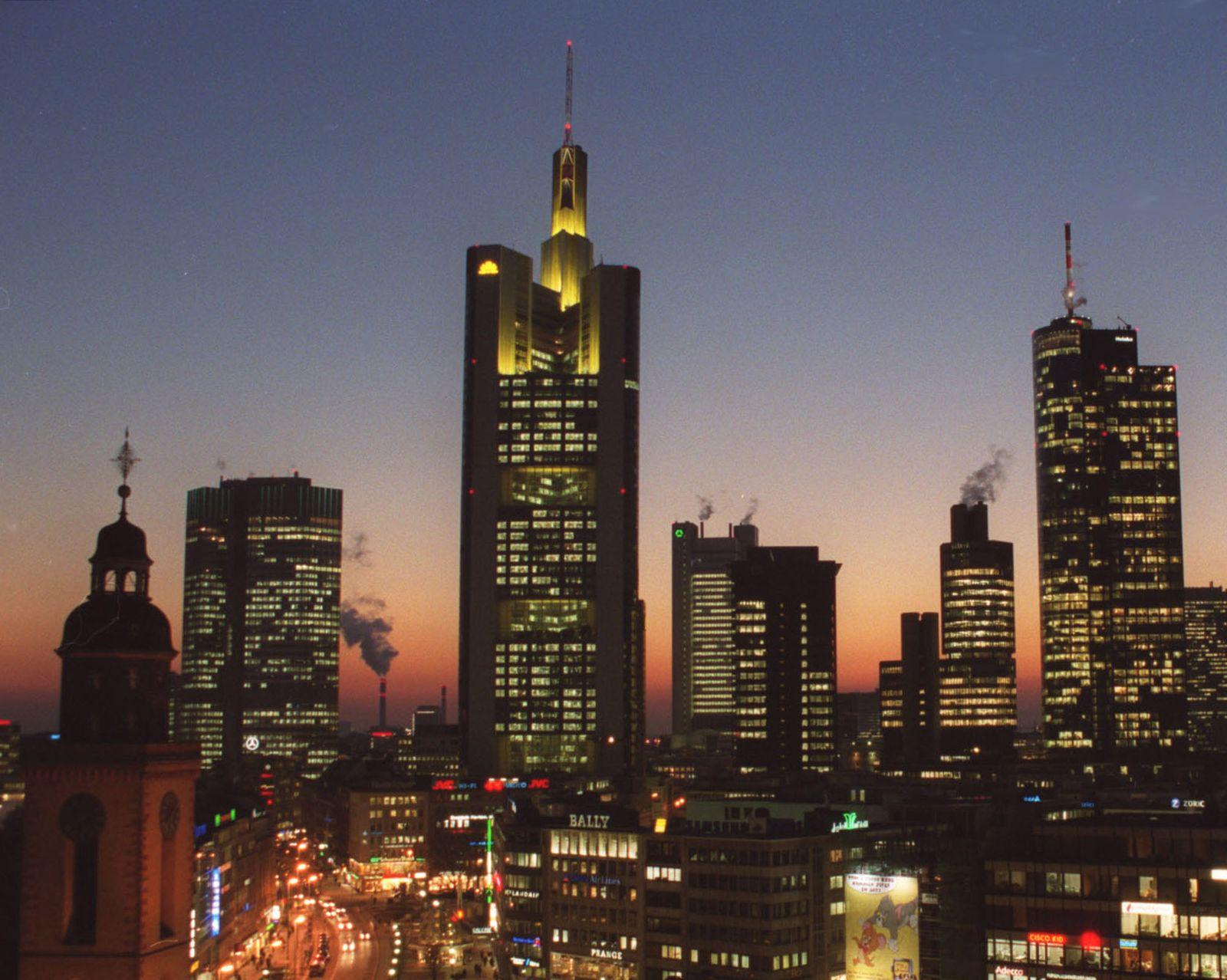 Wolkenkratzer/ Commerzbank Frankfurt