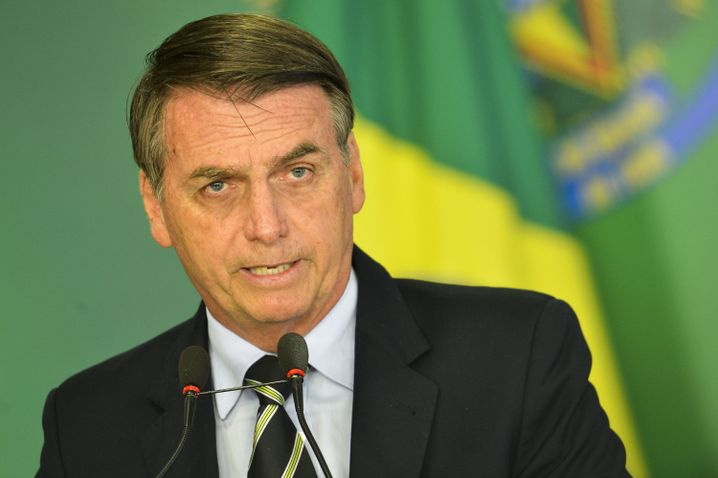 """Of current Brazilian leader Jair Bolsonaro, Lula says: """"This man is a danger to Brazil. He's destroying everything we have built."""""""