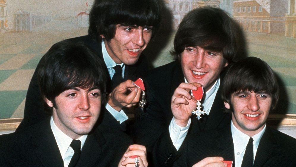 Erfinder des Pilzkopfs: Beatles mit Jürgen-Haarschnitt