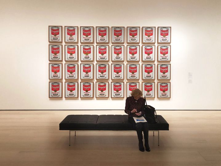"Umgezogen: Andy Warhols ""Campbell's Soup Cans"" im neuen MoMA"