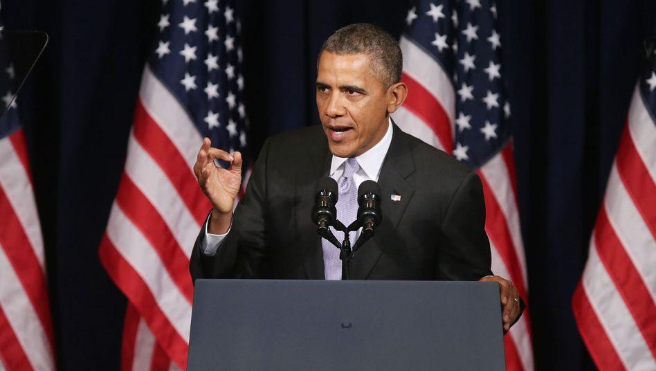 """US-Präsident Obama: """"Antwort auf die Verletzung der Souveränität"""""""