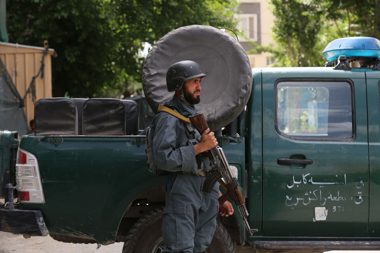 Mosque bombing attack in Kabul, Afghanistan - 12 Jun 2020