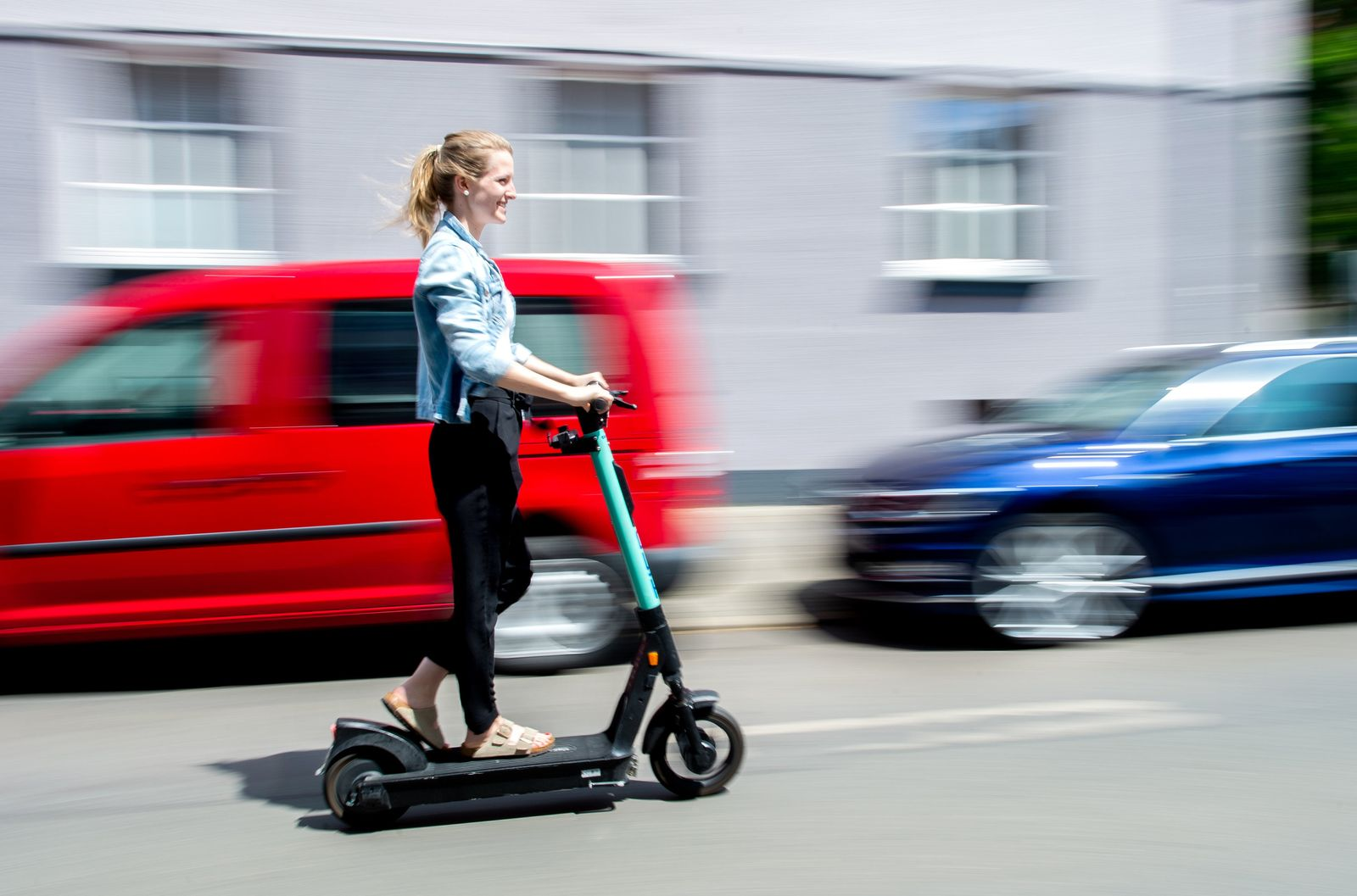 E-Scooter in Hannover