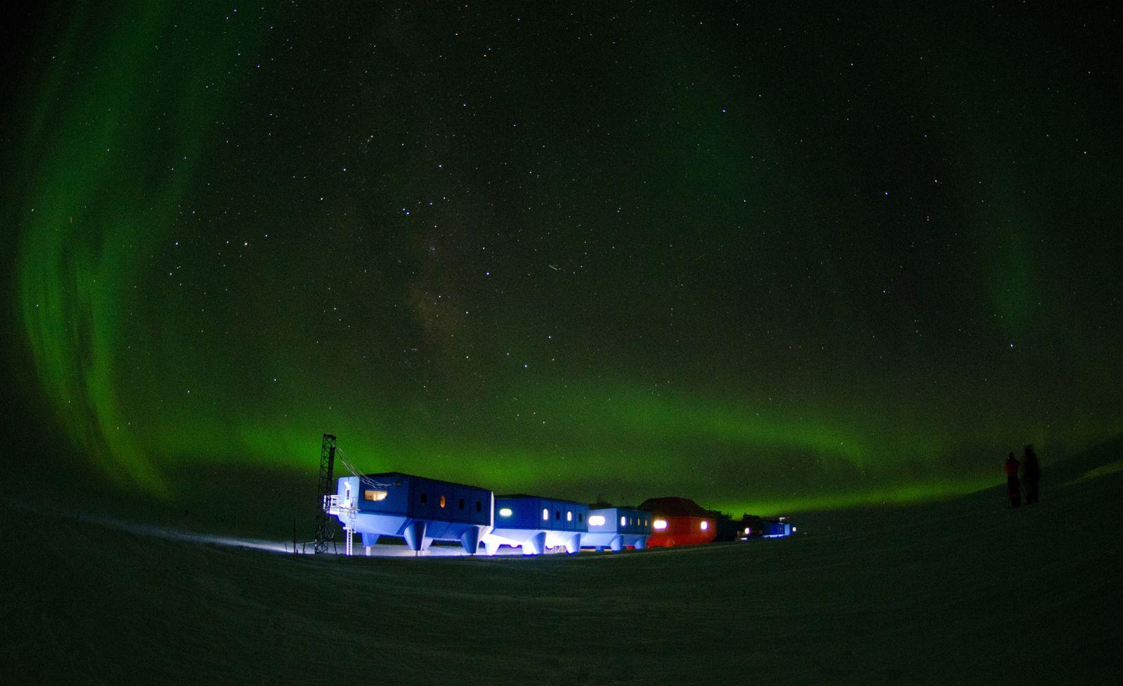 EINMALIGE VERWENDUNG Britain New Antarctic Base