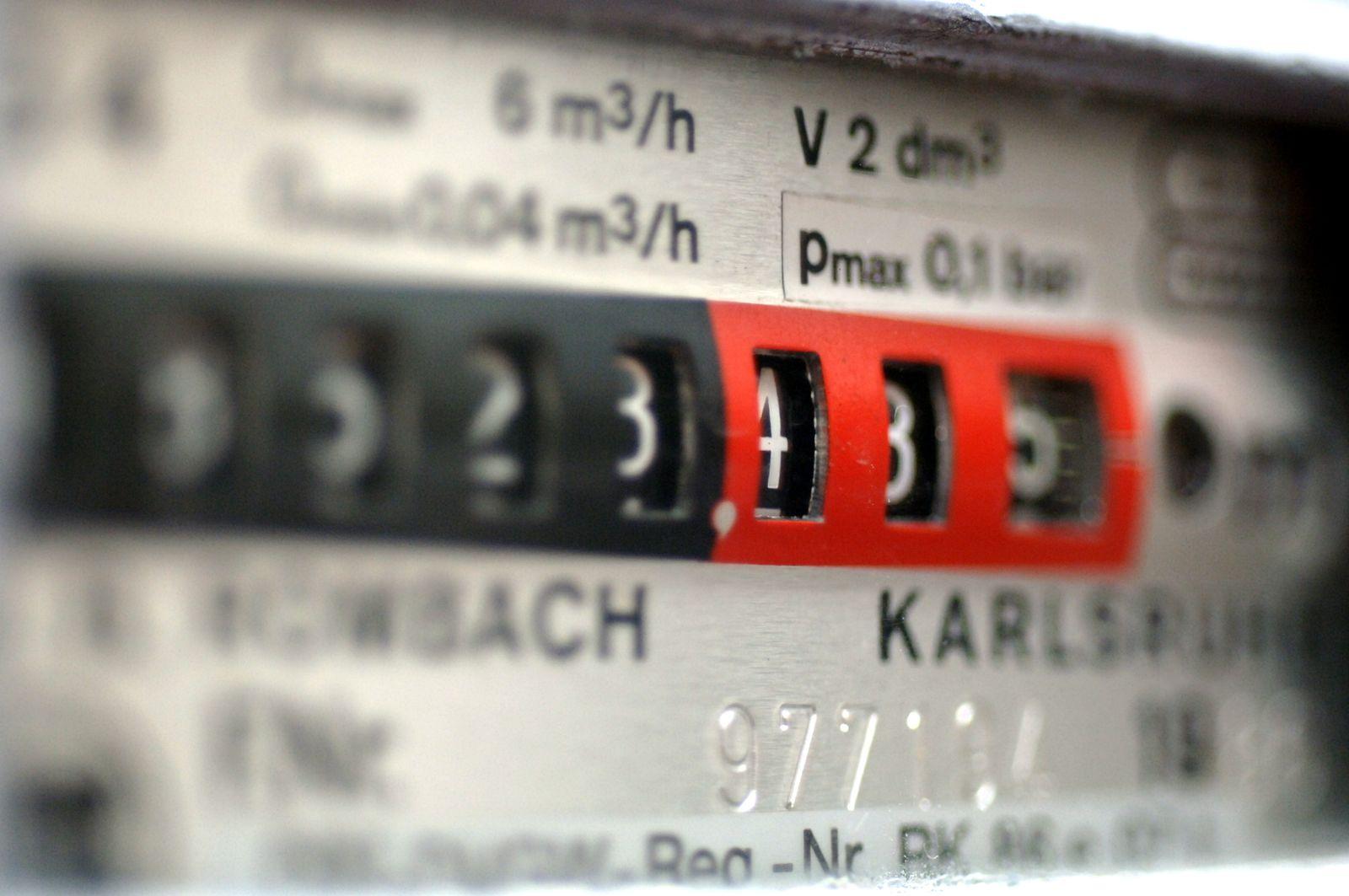 Gaspreis / Gaszähler