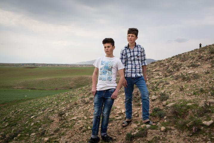 Die Brüder Ahmed (links) und Amir