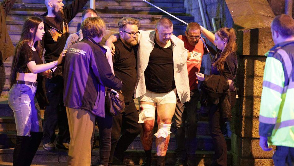 Verletzte nach Explosion in Manchester