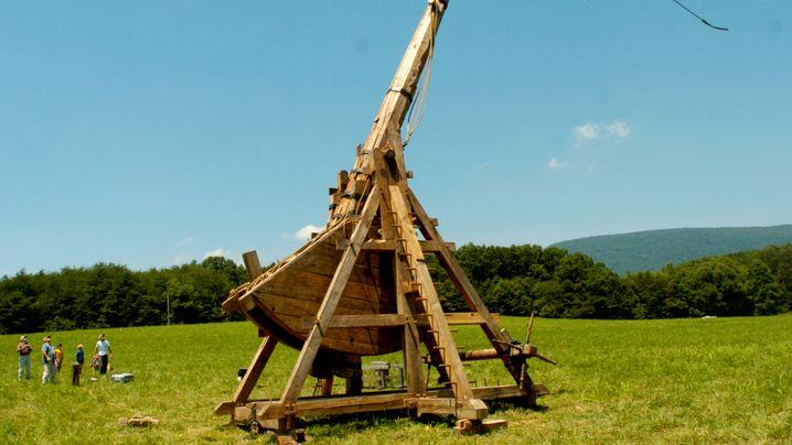 Mittelalterliche Wurfmaschinen