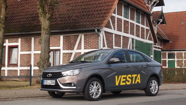 Autogramm Lada Vesta: In neuem Glanz