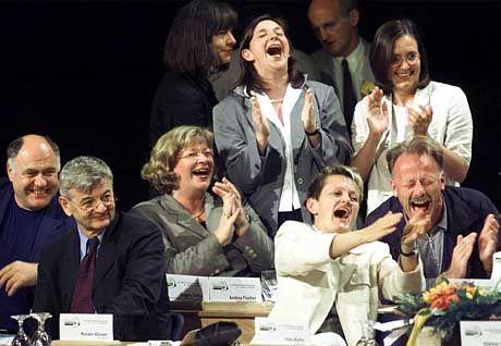 So schön war die Zeit: Grünen-Parteitag 2000 in Münster