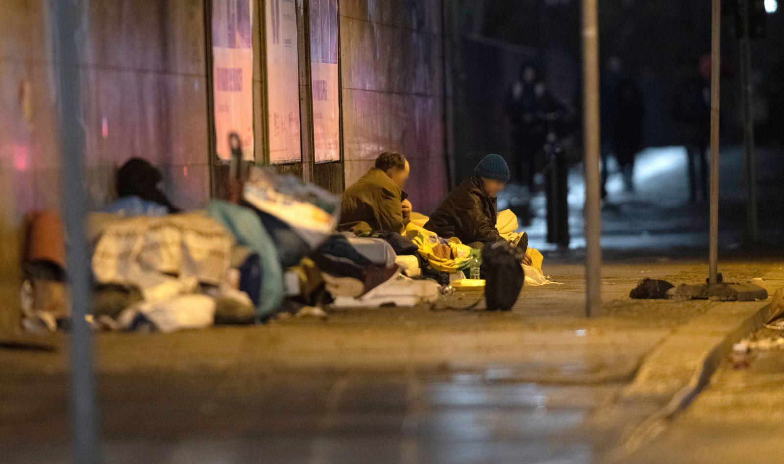 Nacht der Solidarität - Berlin zählt seine Obdachlosen