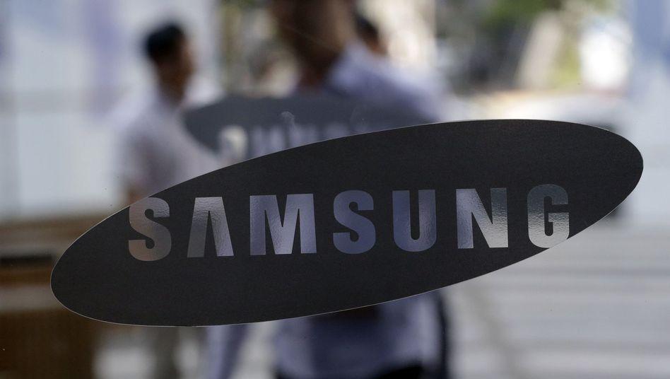 Samsung-Logo am Hauptquartier in Seoul: Alle Zulieferer werden überprüft