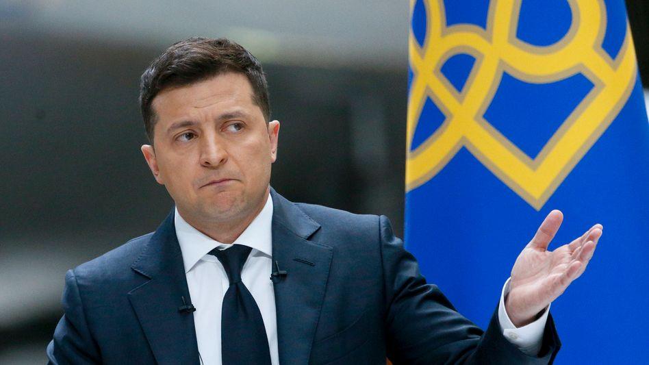 Ukraines Präsident Selenskyj