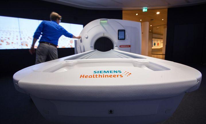 Tomograf von Siemens Healthineers
