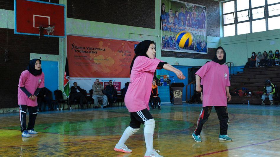 Volleyball gehört zu den beliebtesten Sportarten in Afghanistan (Archivbild)