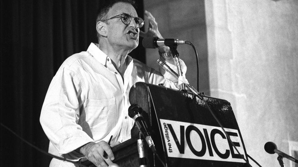 Larry Kramer bei einem Auftritt in New York im Jahr 1987: getrieben von Resultaten .