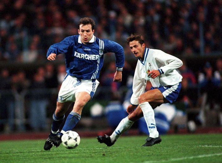 Marc Wilmots im Jahr 1997: Bald zurück beim FC Schalke?