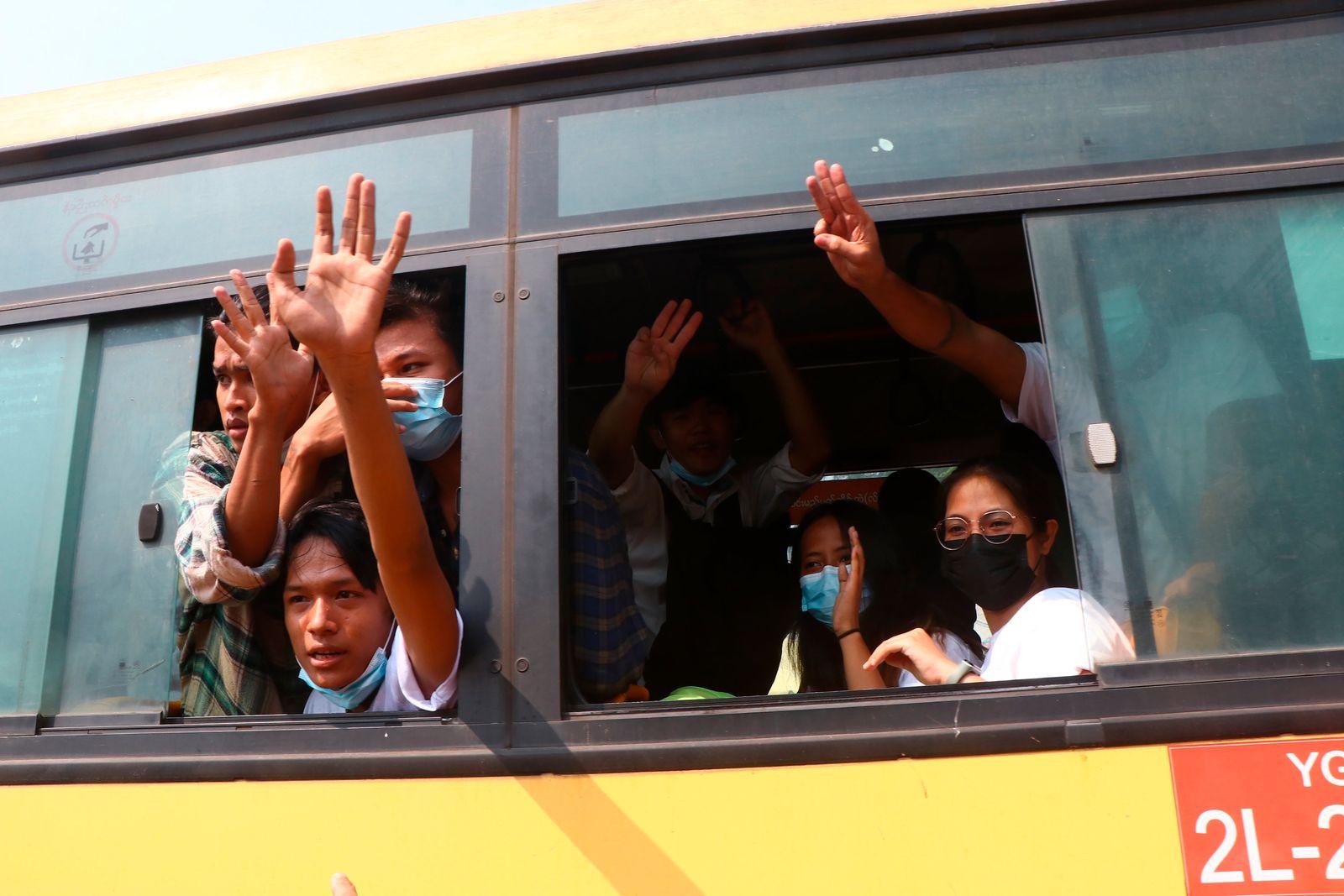 Nach dem Militärputsch in Myanmar