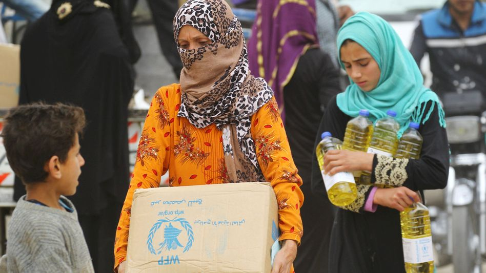 Frauen in Syrien: In manchen Familien sind sie nun Mutter und Vater für ihre Kinder