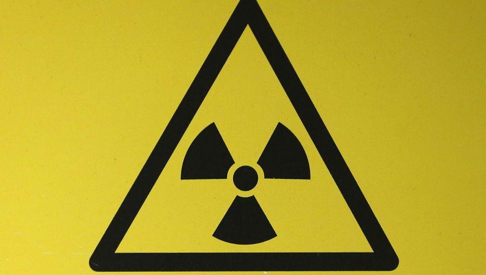 Symbol für Radioaktivität: Kleinste Mengen Polonium-210 genügen, um zu töten