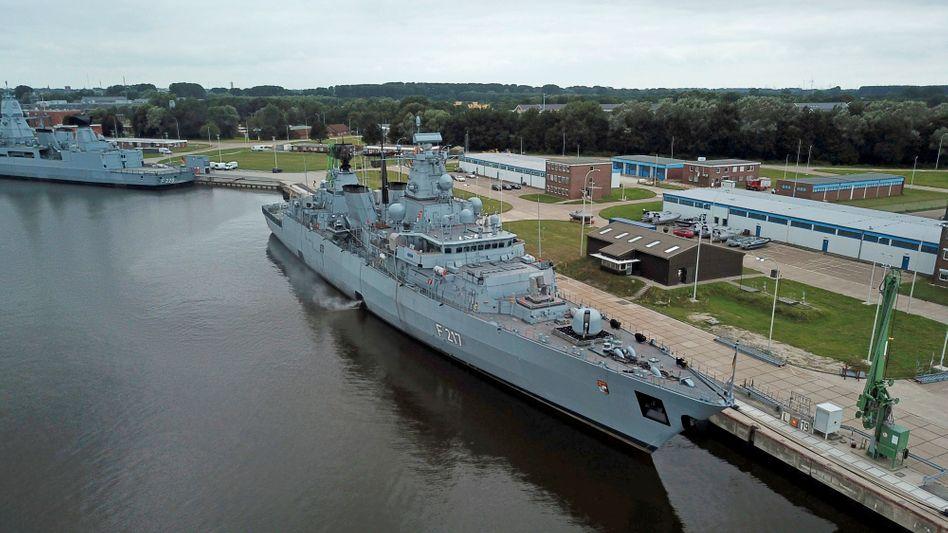Fregatte »Bayern« in Wilhelmshaven: Kluft zwischen globalen Ambitionen und realen Möglichkeiten