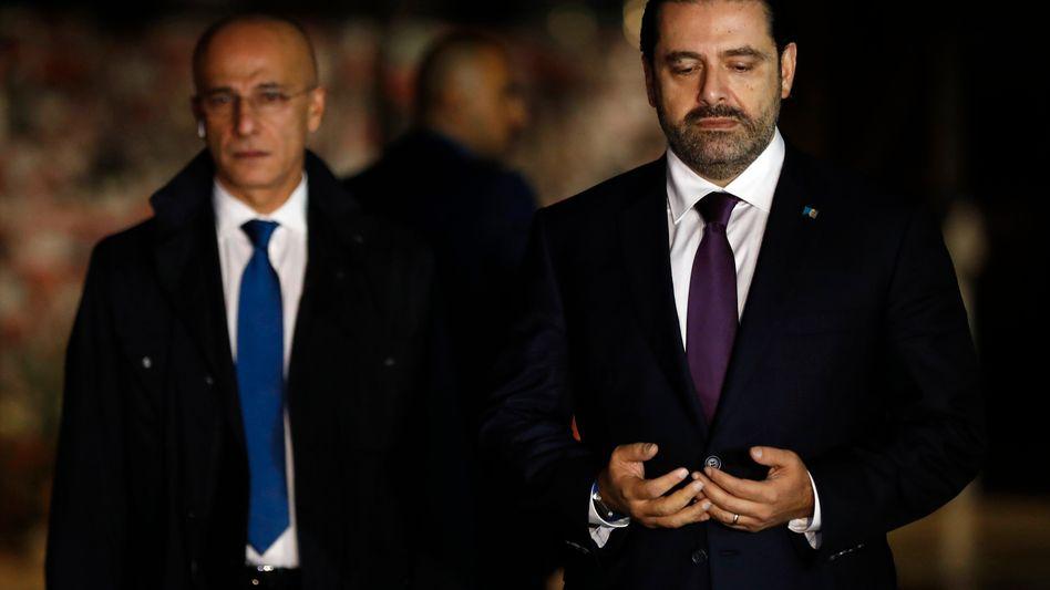 Saad Hariri (r.)