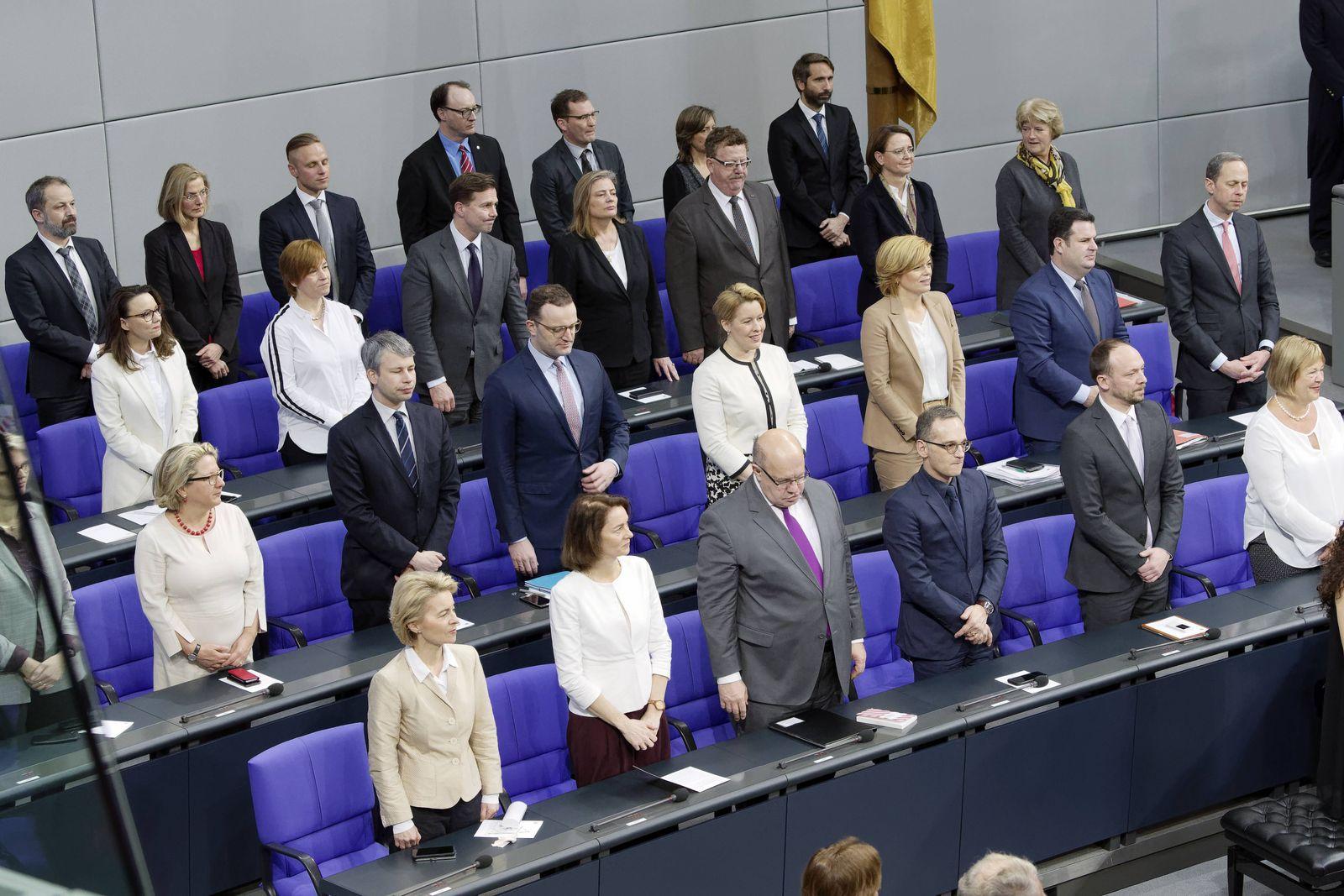 Bundestagsfeierstunde 100 Jahren Frauenwahlrecht 2019-01-17, Berlin, Deutschland - Feierstunde des Deutschen Bundestags