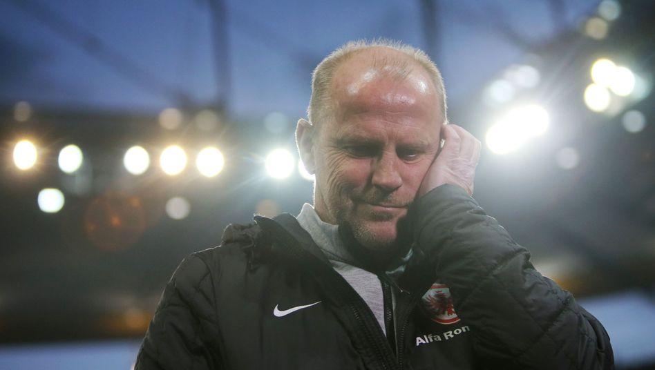 Frankfurt-Trainer Schaaf: Sieg im 500. Spiel als Bundesligatrainer