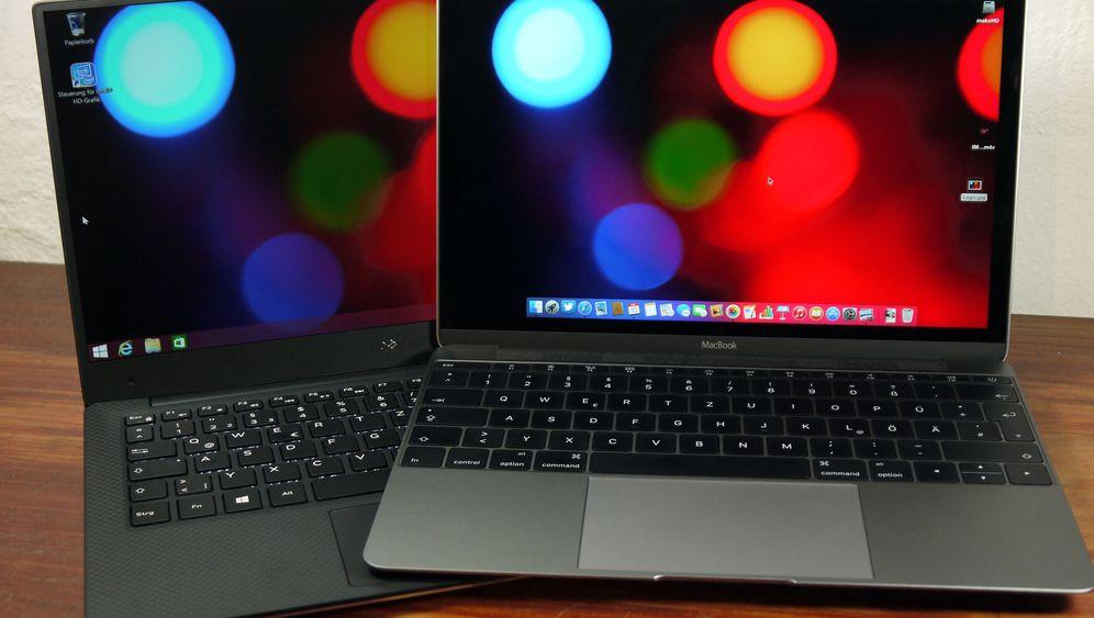 Ultraleichte Notebooks: Macbook 2015 und Dell XPS 13 im Test