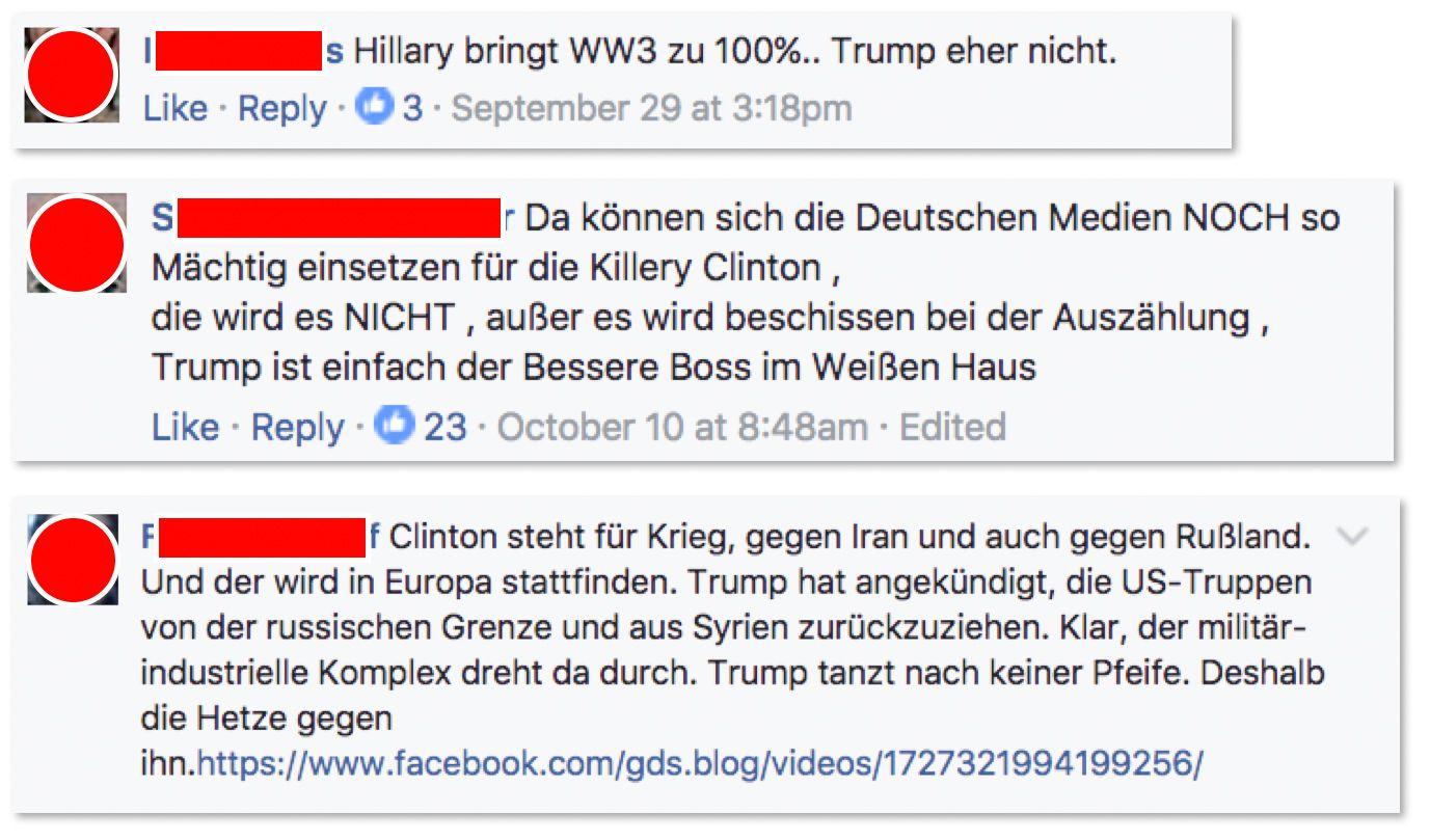 NUR ALS ZITAT Screenshot/ Lobo-Kolumne/ Deutsche Trump-Fans