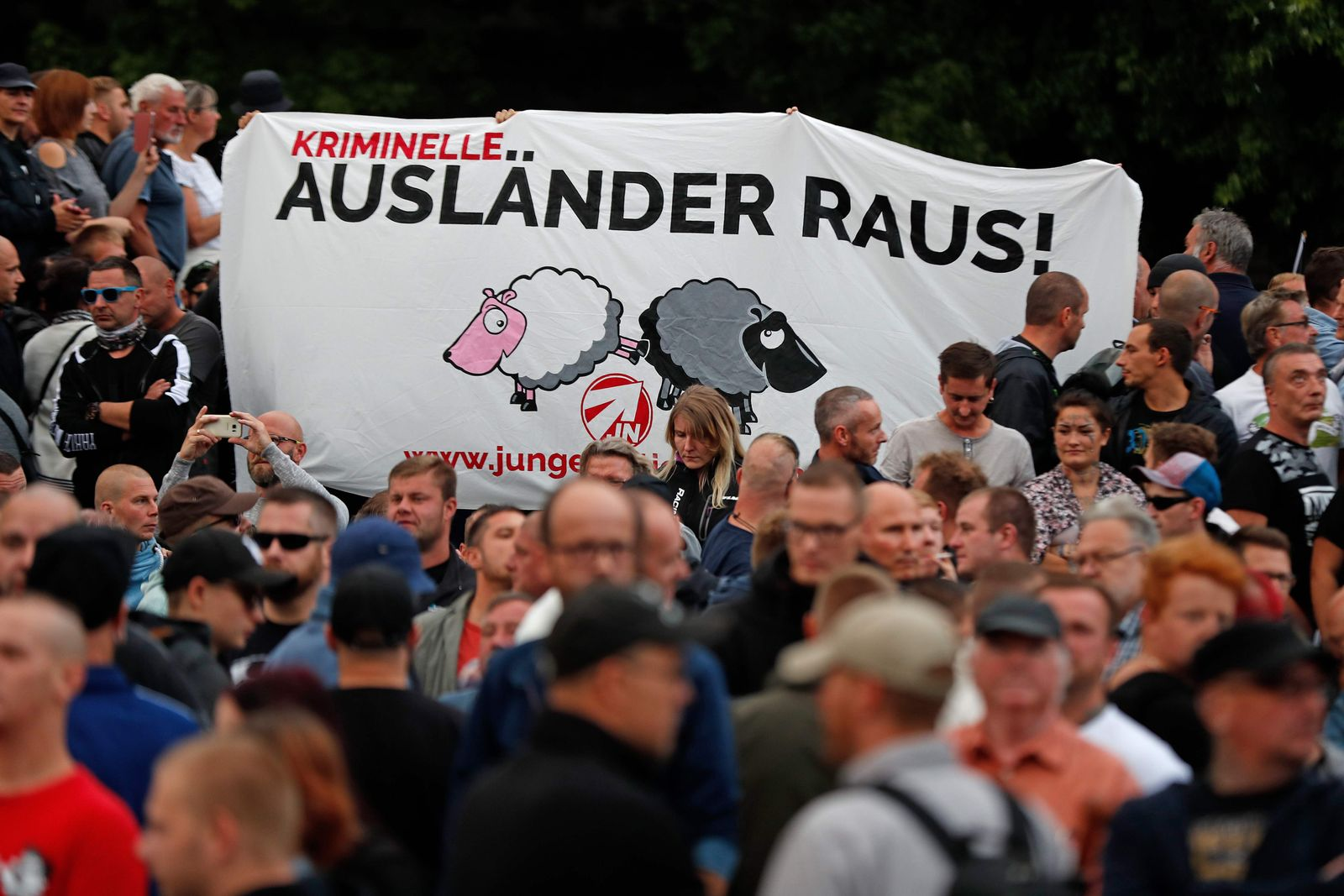 Chemnitz / Proteste
