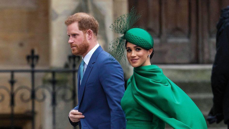 Herzog und Herzogin von Sussex: »Man muss auch gut leben können«