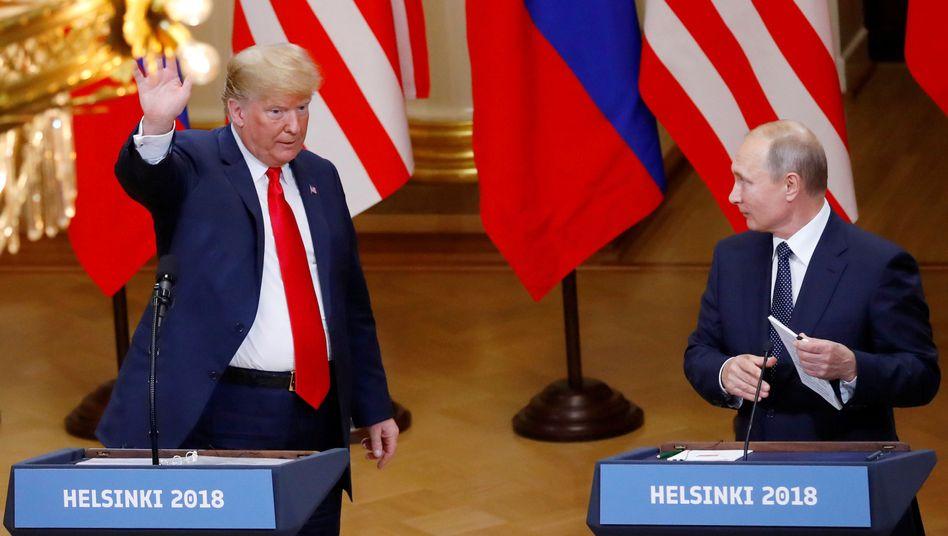 Donald Trump und Wladimir Putin (Archiv)