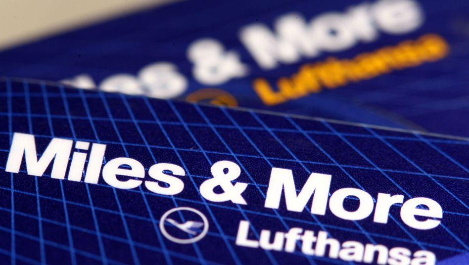 Miles & More-Kreditkarte der Lufthansa