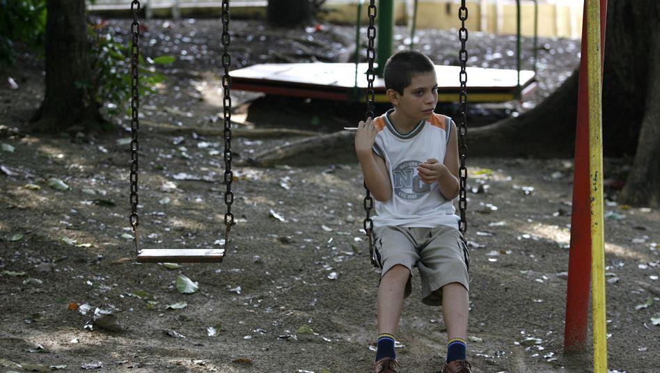 Autismus bei Kindern: Schwierigkeiten bei der sozialen Bindung