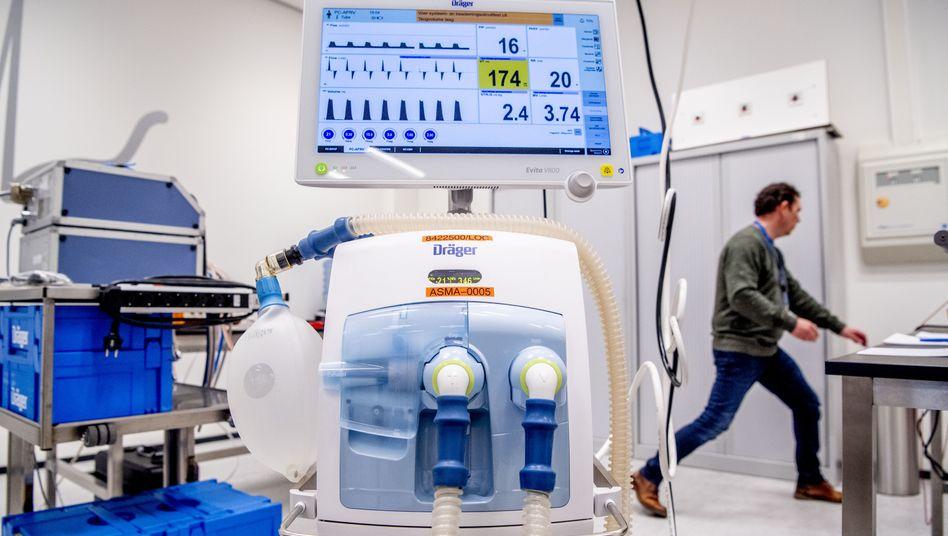 Medizintechnikhersteller wie Dräger verzeichnen eine deutlich stärkere Nachfrage, diese befördert den Aktienkurs steil nach oben